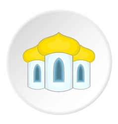Mosque icon flat style vector image