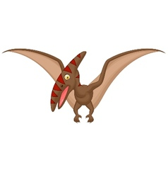 Pterosaurus cartoon vector