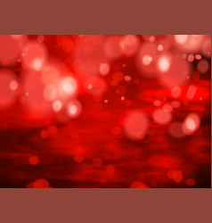 red bokeh background light effect for your design vector image