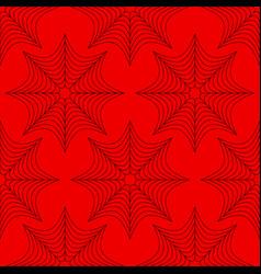 Spider web pattern vector