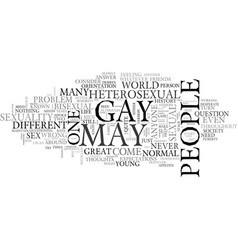 am i asexual text word cloud concept vector image vector image