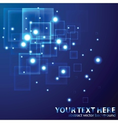Virtual Technology Background vector image vector image
