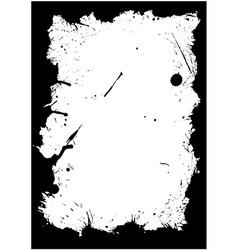 Blot frame vector image