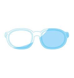 fashion sun glasses vector image