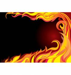 fire graphic vector image vector image
