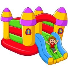 Play and fun theme vector image