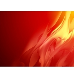 Red abstract background curved EPS 10 vector image vector image
