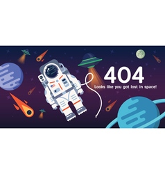 404 page space vector