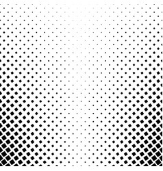 Black and white square pattern - abstract vector