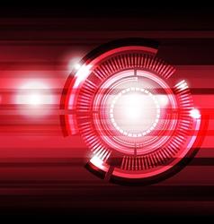 future tech background vector image
