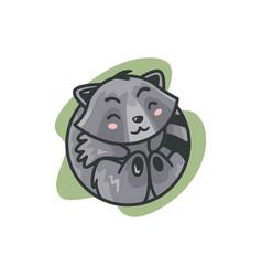 mascot squirrel vector image