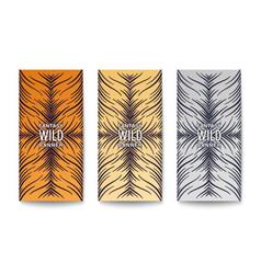 Stylish banners design vector