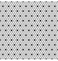 seamless pattern black dotted veil black mesh vector image