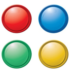button designs vector image vector image