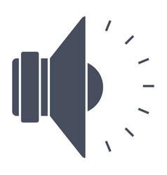 sound icon vector image vector image