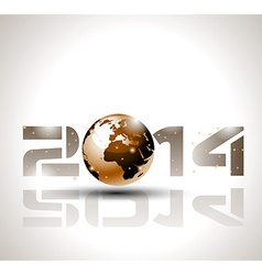 2014 highTech Brown vector image