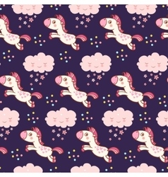 Baby cute pattern vector