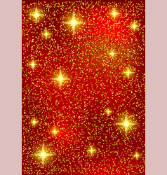 bright christmas red background vector image