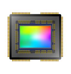 Cmos ccd image sensor vector