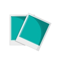 Isolated paper of picture design vector