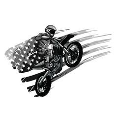 motocross logo motor cross logo extreme sport vector image