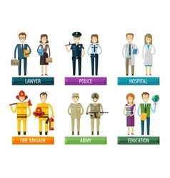 People logo design template police vector