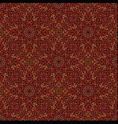 Seamless bohemian brown gemstone ornament pattern vector
