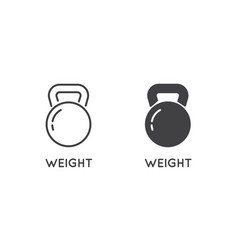 Set minimal weight and scales related line vector