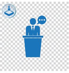 Speaker icon vector
