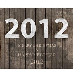 2012 christmas banner vector