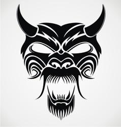 Devil mask vector