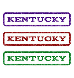 kentucky watermark stamp vector image vector image