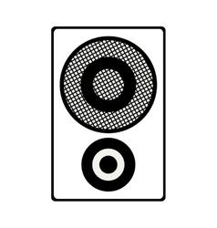speaker box icon vector image