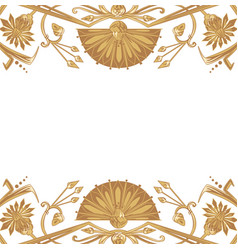 Egyptian ornament background vector