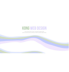 Abstract background header website with wave vector