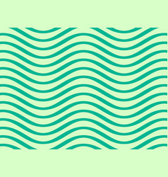 abstract wavy lines pattern design vector image