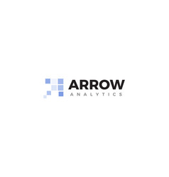 Business analytics logo company development vector