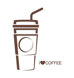 Coffee 5 Coffee cup vector image