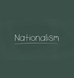 Nationalism vector