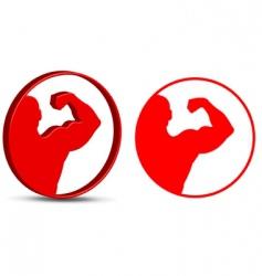 sports symbol vector image
