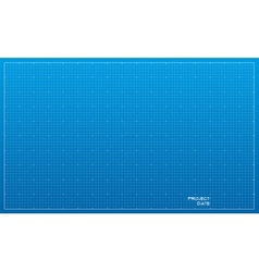 Wide blueprint background texture vector