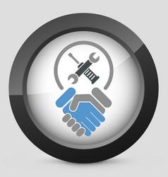 Worker handshake vector