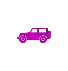 suv Icon concept for design vector image vector image