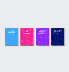 abstract modern futuristic creative purple vector image