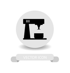 beater icon vector image