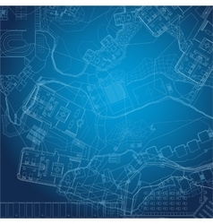 Blueprint Architectural background vector