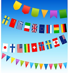 Country flags vector