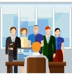 Curriculum vitae recruitment candidate job vector
