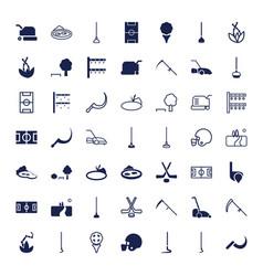 Grass icons vector