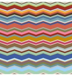 Retro seamless geometric background vector image
